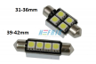 LED auto žárovka LED C5W 4 SMD 5050 CAN BUS 36mm