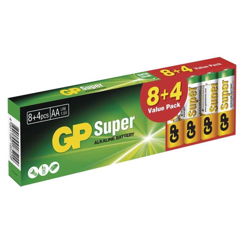 GP Batteries Alkalická baterie GP Super AA (LR6) B1320T