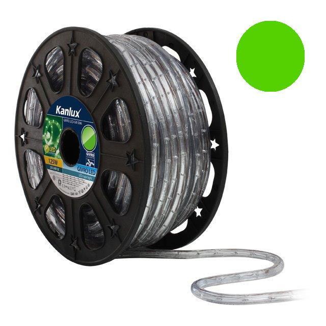 LED světelný had 50m GIVRO LED-GN zelená Kanlux + Akce 08633_50m