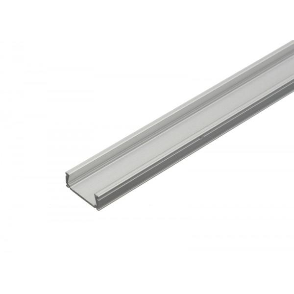 PREMIUMLUX Hliníkový profil MiniLUX 2m pro LED pásky, ALU lišta