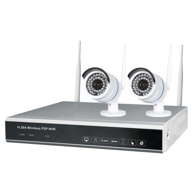 Emos Sada rekordéru H5602 s 2x IP bezdrátovou kamerou
