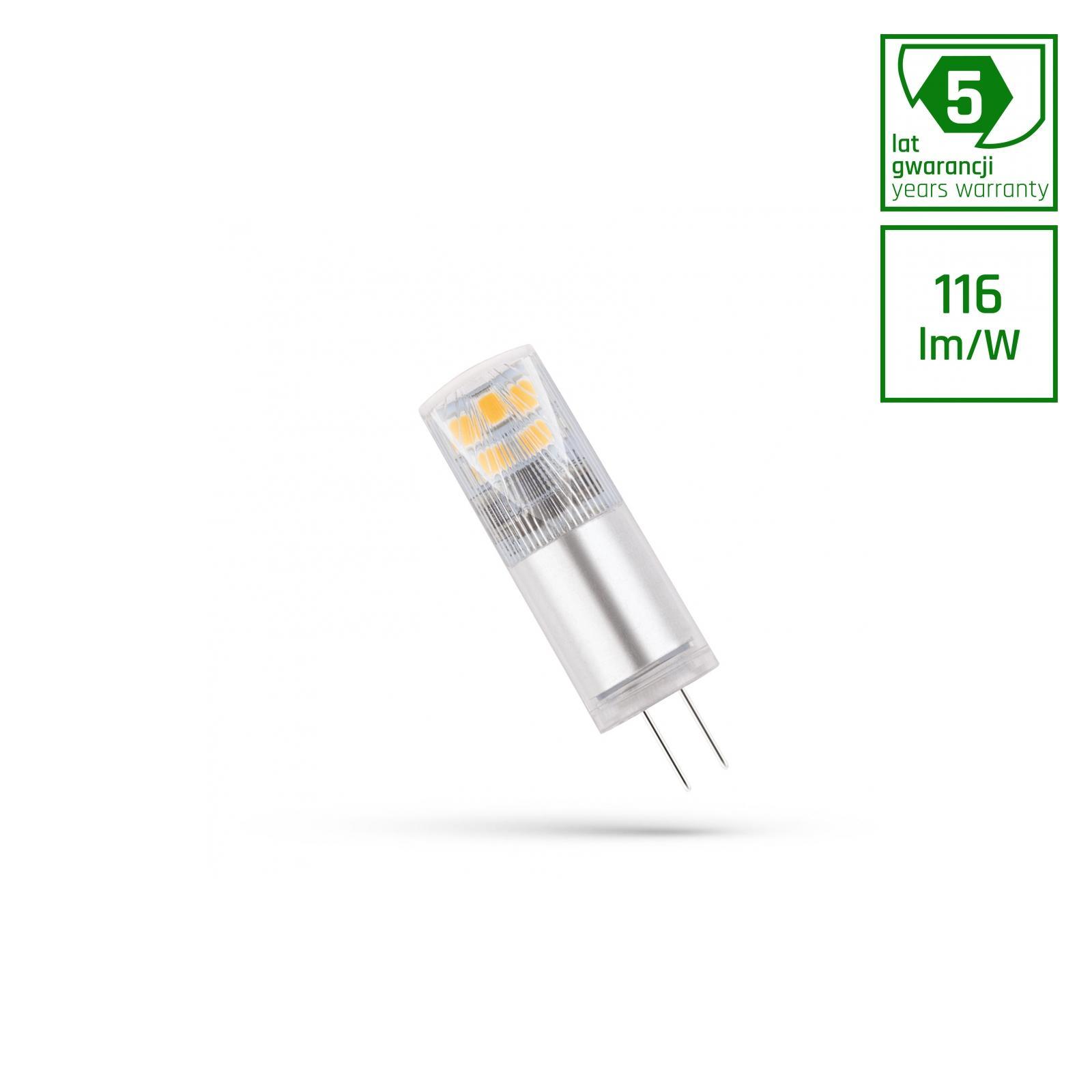 LED G4 12V 2,5W Studená bílá bíllá 5 LAT PREMIUM SPECTRUM