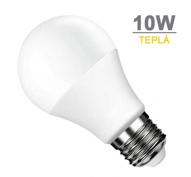 SPECTRUM LED žárovka E27 10W SMD2835 800 lm CCD Teplá bílá + Cena v akci 29Kč