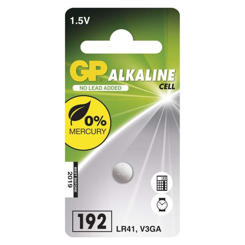 GP Batteries Alkalická knoflíková baterie GP 192F (LR41) B13921