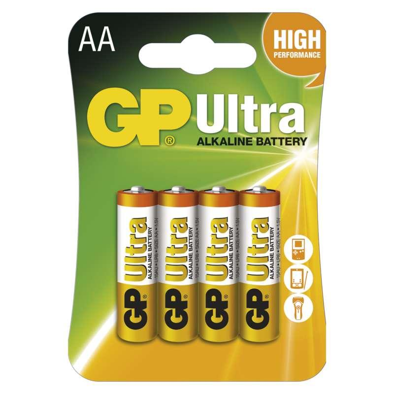GP Batteries Alkalická baterie GP Ultra AA (LR6) B1921