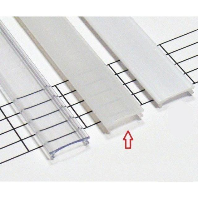 LEDLabs Matný difuzor HIGH KLIK pro profily LUMINES A/B/C/D/G/H/Z/Y 2m