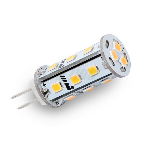 Led line LED žárovka 3W 18xSMD2835 G4 295lm STUDENÁ BÍLÁ 12V DC