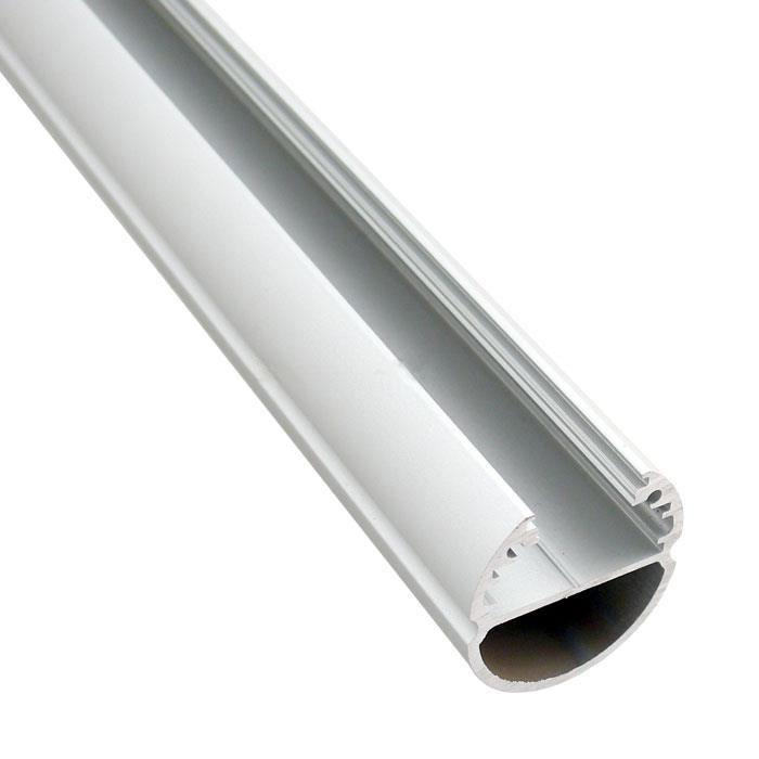 PREMIUMLUX Hliníkový profil Oval 1m pro LED pásky, ALU lišta