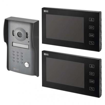 Sada videotelefonu EMOS RL-10M se 2 monitory H1014D
