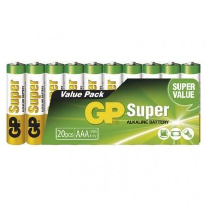 GP Batteries Alkalická baterie GP Super AAA (LR03) B1310L