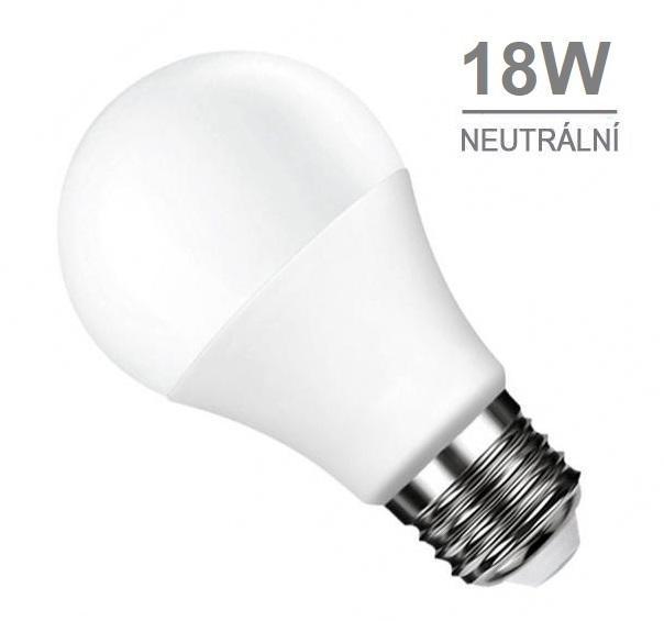 LED21 LED žárovka 18W 27xSMD2835 1440lm E27 CCD Neutrální bílá
