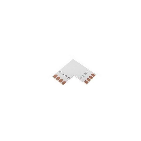 PREMIUMLUX Spojka rohová pro RGB LED pásky o šířce 10mm