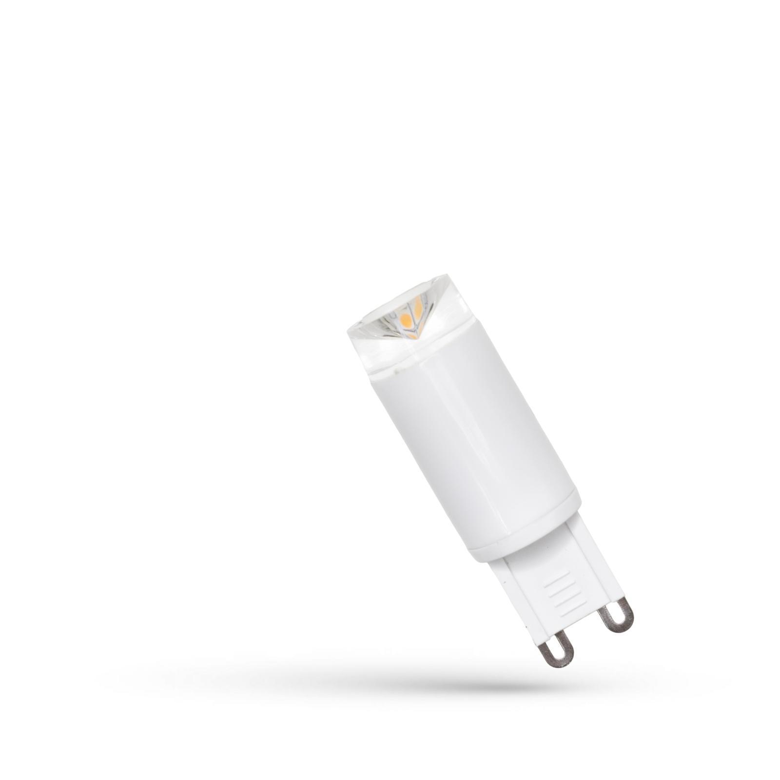 LED G9 230V 2.5W Teplá bílá keramika SPECTRUM