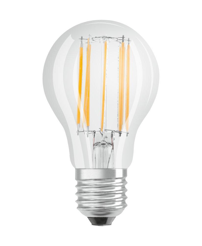 LED žárovka LED A60 E27 12W = 100W 1521lm 2700K OSRAM PARATHOM FILAMENT Stmívatelná OSRPARLL4211