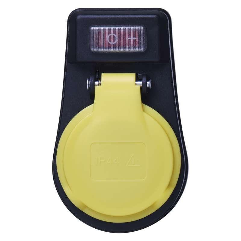 Emos Rozbočovací SCHUKO zásuvka s vypínačem P00292