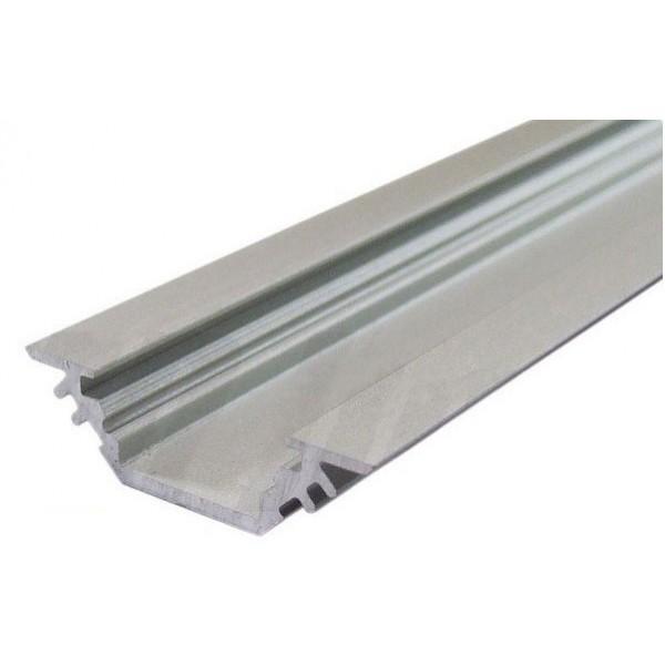 PREMIUMLUX Hliníkový profil TRIO 2m pro LED pásky, ALU lišta