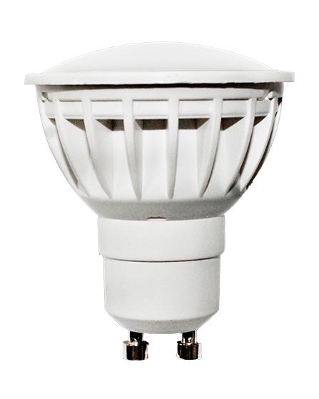 Berge LED žárovka 5W 12xSMD2835 GU10 450lm CCD TEPLÁ BÍLÁ
