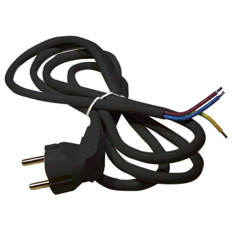 Levně Emos Flexo šňůra PVC 3× 1,0mm2, 5m, černá S18315
