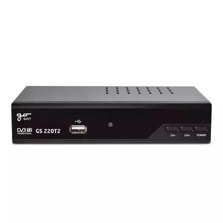 LED21 Set-top box GoSAT GS220T2 DVBT2