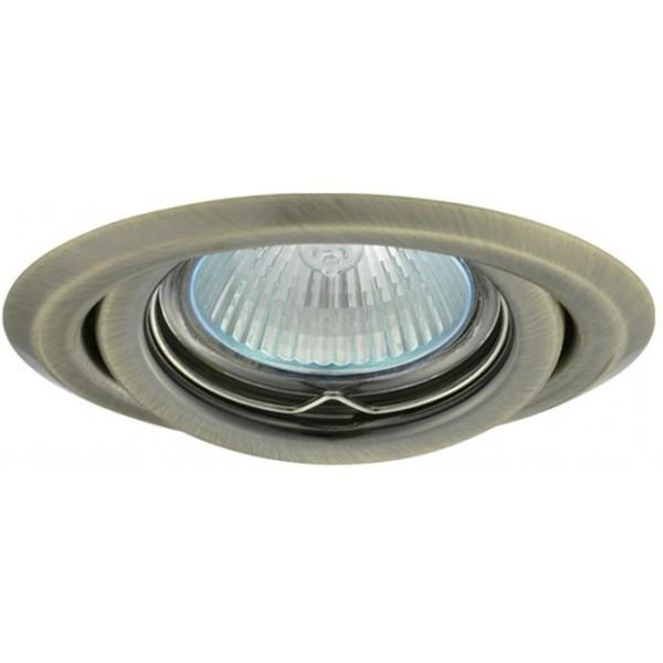 Levně PREMIUMLUX Podhledové bodové svítidlo BETA mosaz + patice, LUX01220