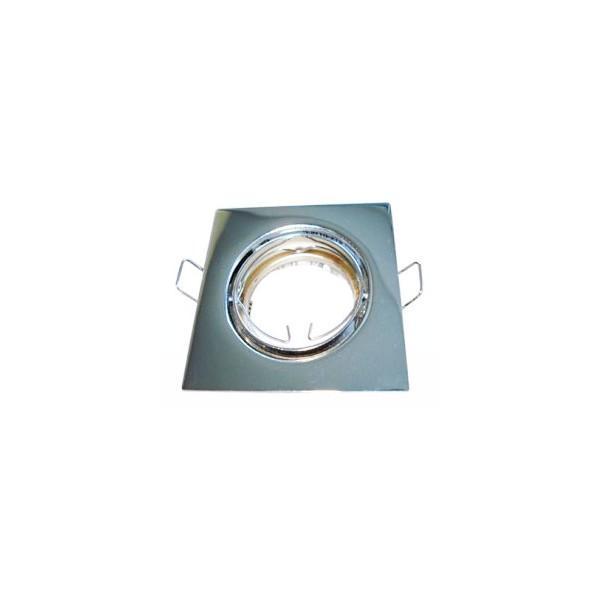 PREMIUMLUX Podhledové bodové svítidlo DELTA-R ALU chrom + patice, LUX01235
