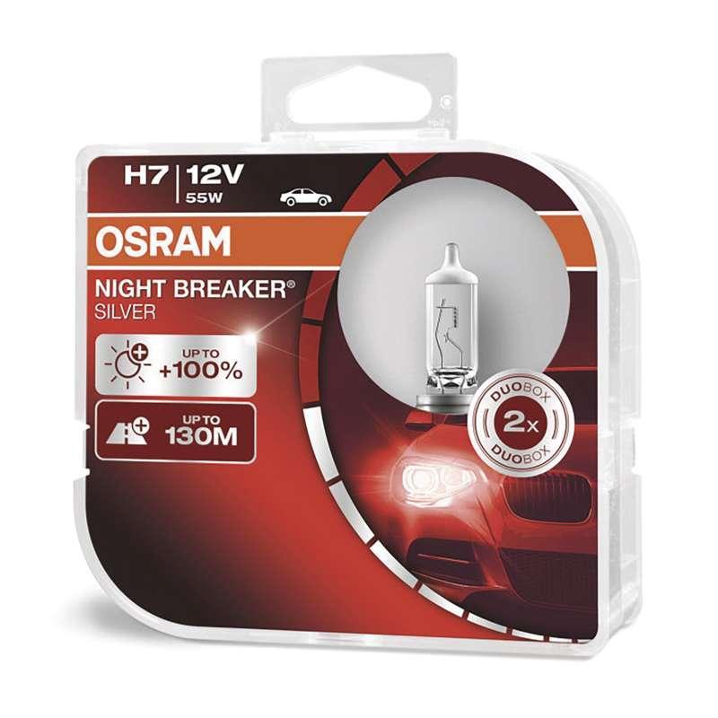 Autožárovka OSRAM H7 55W 12V Night Breaker Silver C2607.7