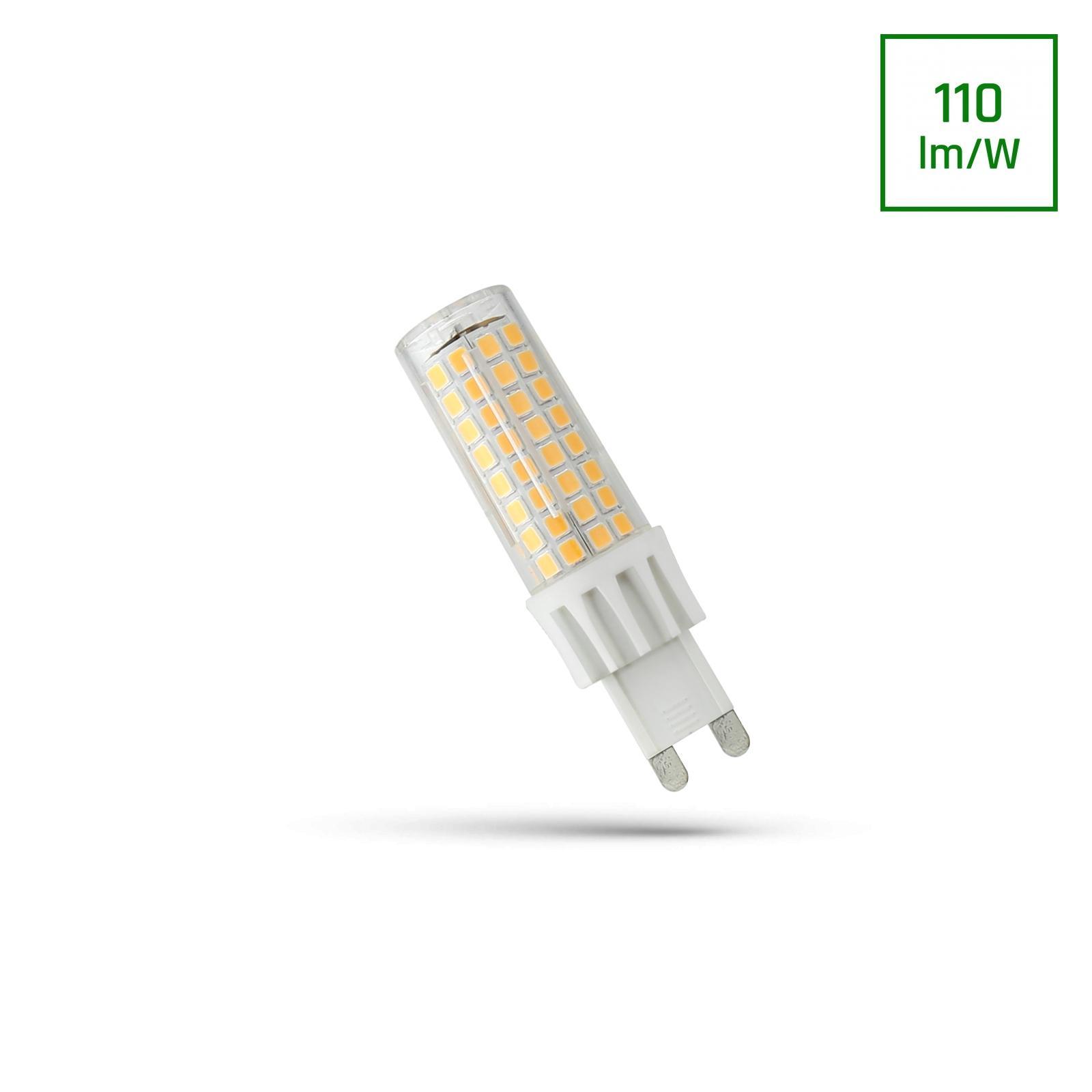 LED G9 230V 7W Teplá bílá SMD SPECTRUM