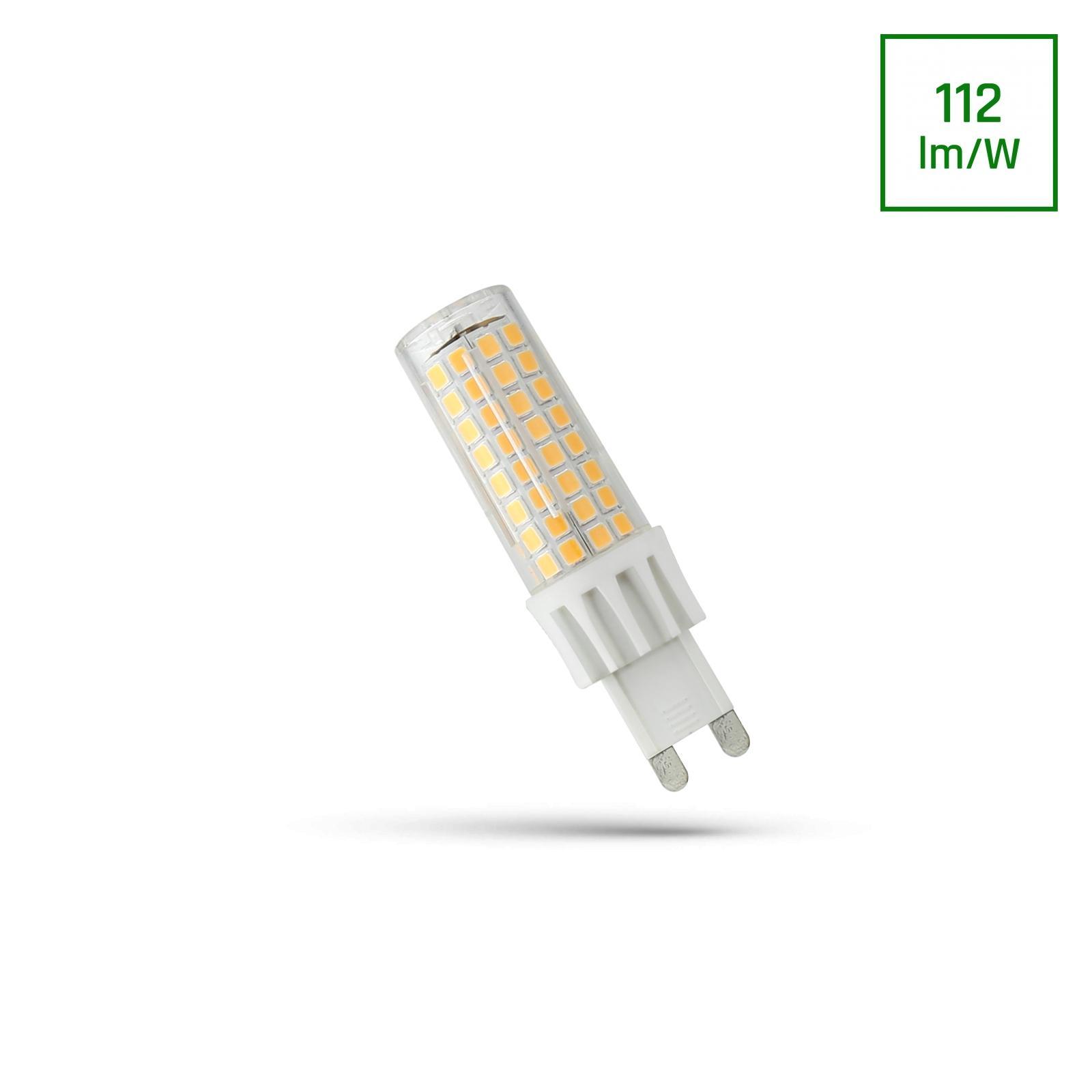 LED G9 230V 7W Studená bílá bíllá SMD SPECTRUM