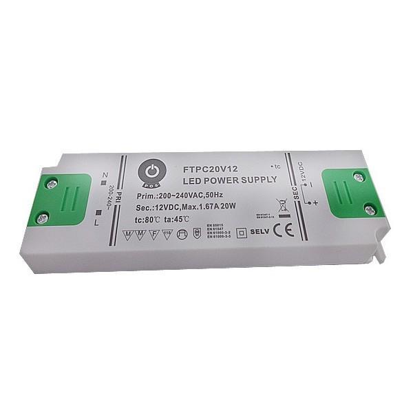 PREMIUMLUX Nábytkový LED napájecí zdroj FTPC30V12 30W 2,5A 12V