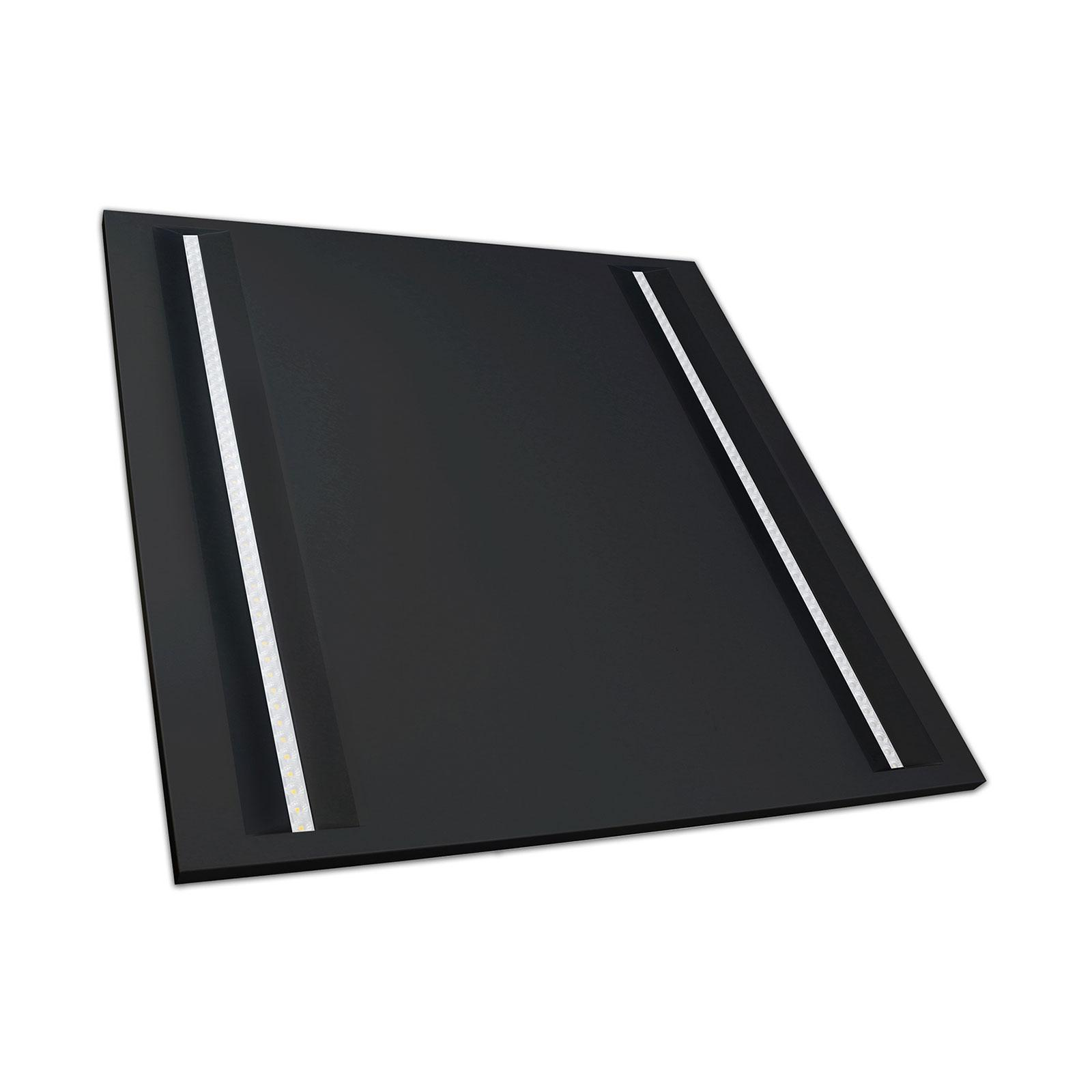 SPECTRUM LED panel ALGINE LINE 44W 60x60cm 120LM/W UGR<16 IP20 Neutrální bílá 5 let záruka černý