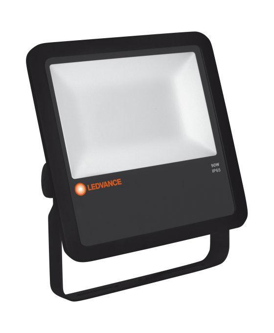 LED reflektor Osram 90W 10000lm 4000K IP65 LEDVANCE FLOODLIGHT černý