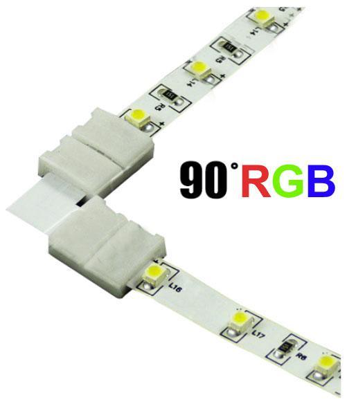 Berge Spojka rohová KLIK pro RGB LED pásky